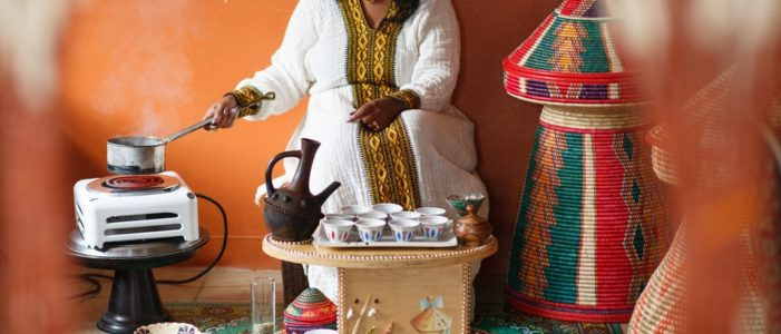 Эфиопский кофе: подготовка к церемонии