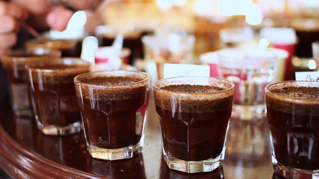 Каптестинг (дегустация кофе)