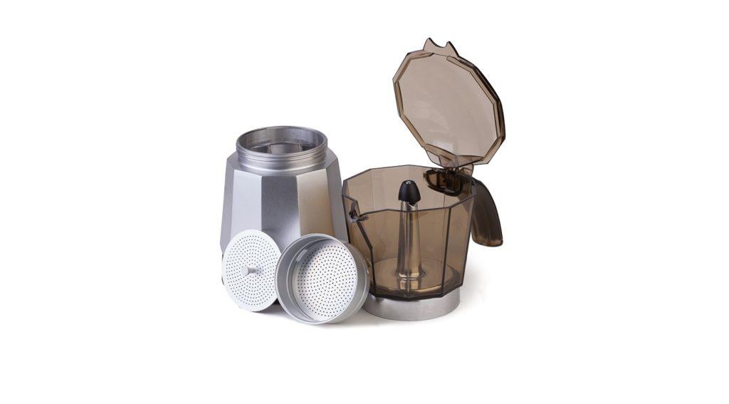 Что такое гейзерная кофеварка? Устройство