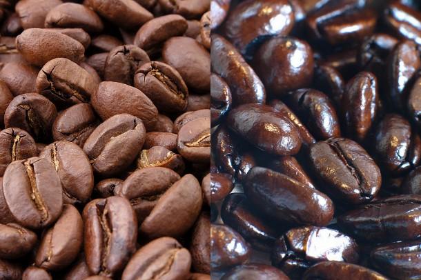 Торрефакто и обычный кофе